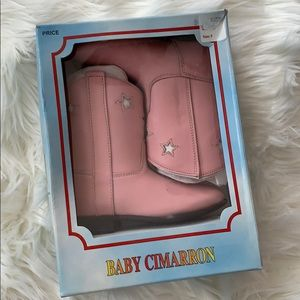 Baby Cimmaron Toddler Cowgirl Boots Pink 5